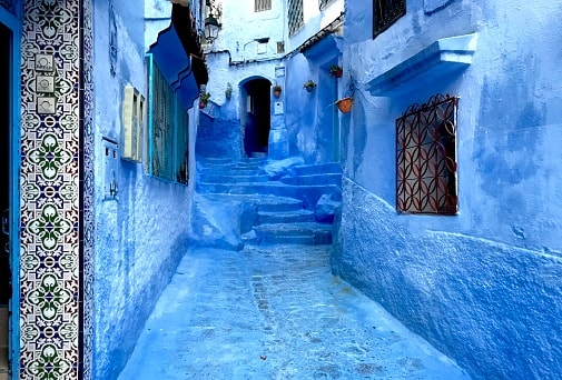 7 Things To Do When Vacationing In Morocco - Chefchaouen's Blue Street